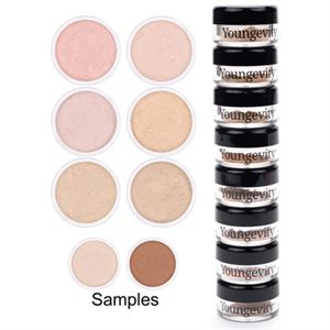 Picture of Mineral Makeup Sample Tower - Light to Medium