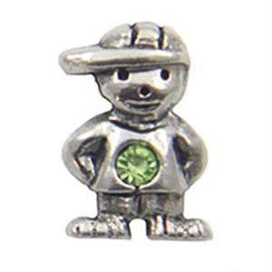 Picture of August Boy Birthstone Charm